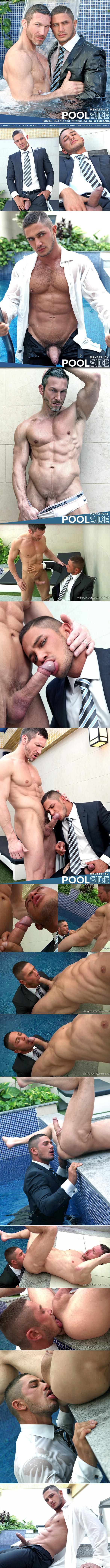 "MenAtPlay: Newcomer Dato Foland tops Tomas Brand in ""Poolside"""